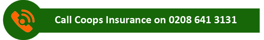 Telephone Coops Insurance on 020 8641 3131